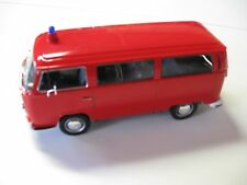 WELLY 1:24 SCALE 1972 VW VOLKSWAGEN TYPE 2 BUS DIECAST W/O BOX