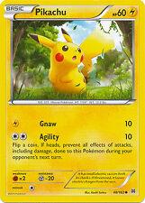 Pikachu Common Pokemon Card XY BREAKThrough 48/162