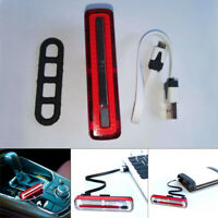 Ultra Bright LED Bike Tail Light USB Rechargeable Powerful Bicycle Rear Light