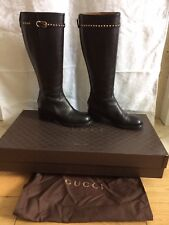 100% Authentic Gucci Knee High Boots