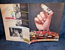 Aurora Dealer Catalog: 1965 Ho Slot Cars,Sets,Accessories Vintage Original =Nice