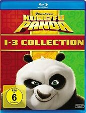 KUNG FU PANDA 1-3 COLLECTION (3 Blu-ray Discs) NEU+OVP