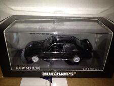 Minichamps 1990 BMW M3 Coupe (E30) Black 1:43 NICE FIND***