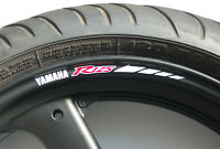 8 x YZF R125 Wheel Rim Stickers Decals - Choice of Colors - r 125 125cc yzf-r125