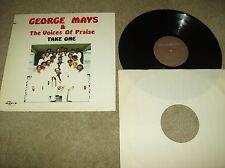 "George Mays & The Voices Of Praise ""Take One"" Black Gospel Lp Savoy 14484...NM"