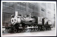 *1940's Union Pacific Locomotive # 1242 ~ At Rr Station ~ Real Photo Pc Rppc