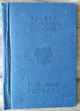 Poland Travel Document 1957