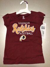 Washington Redskins Fan Apparel Football Kids Size 2T/2 Sleeveless Shirt