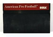 SEGA Master System Spiel AMERICAN PRO FOOTBALL dt. PAL