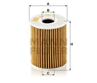 MANN Oil Filter HU7017Z Volkswagen 03P115562