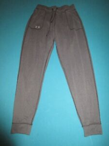 UNDER ARMOUR Mens Gray Lightweight Athletic Pants Size Small S