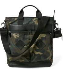 Ralph Lauren Polo Rucksack Backpack or  Bag 2in1 new laptop waxed canvas effect.