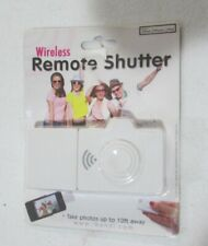 Wireless Remote Shutter Button FOR iPhone iPad iPod NEW White