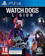 Watch Dogs Legion PS4  Brand New & Sealed
