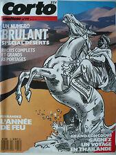 Magazine (très bel état) - Corto Maltese 19 (couverture de Ferrandez)