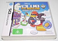 Club Penguin Herbert's Revenge Nintendo DS 2DS 3DS Game *Complete*