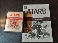 Real Sports Baseball (Atari 2600, 1982) *BUY 2 GET 1 FREE +FREE SHIPPING*