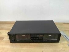 Yamaha Stereo Double Cassette Tape Deck K-222