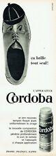 Publicité Advertising 019  1965   cirage chaussures  applicateur Cordoba