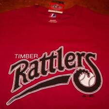 WISCONSIN TIMBER RATTLERS BASEBALL T-Shirt SMALL NEW w/ TAG Milwaukee Brewers
