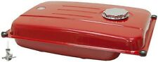 4.5 GALLON GENERATOR FUEL GAS TANK RED WITH FUEL SHUT-OFF VALVE 28-1836-R