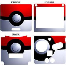Pokemon Pokeball Classic Cool Skin Vinyl Sticker Cover Decal for Nintendo GBA SP