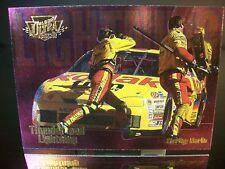 Insert Sterling Marlin #4 Kodak Fleer Ultra THUNDER & LIGHTNING 1996 Card #8/ 10