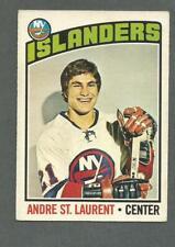 1976-77 OPC O-Pee-Chee Hockey Andre St. Laurent #29 New York Islanders *1