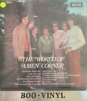 "AMEN CORNER THE WORLD OF AMEN CORNER (1960s POP ROCK) VINYL 12"" 33RPMLP EX+ Con"