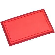 WMF Schneidbrett Touch 32x20 cm rot Kunststoff Saftrille Küchenbrett 1879505100
