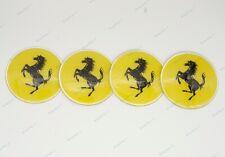 1Set 65mm Car Logo Wheel Parts Center Covers Hub Caps Styling For Ferrari