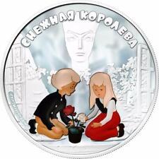 Cook Islands 2013 5$ Soyuzmultfilm The Snow Queen 1oz Silver Coin