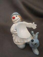 Vintage Ff Clowns Fitz & Floyd Porcelain Cup Soap Holder Japan