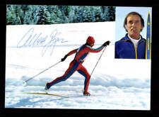 Albert Giger Autogrammkarte Original Signiert Skilanglauf+A 177526
