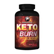 Keto Burn by Premium Powders 90 Capsules BURN FAT! Lower Cortisol! FAST Shipping
