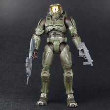 "Halo 2 Limited Edition Dark Green MASTER CHIEF Battle Damaged 8"" Figure Joyride"