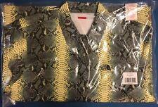Supremo de los entrenadores de costura con cinta de piel de serpiente del norte cara la chaqueta verde verde M nuevo DS