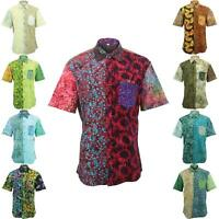 Mens Shirt Loud Originals REGULAR FIT Batik Random Retro Psychedelic Fancy