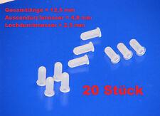 20x Tüllen Befestigungstüllen für Schriftzug Emblem OPEL Ascona Kadett GT Manta