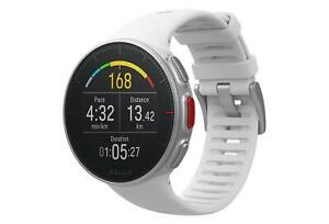 Polar Vantage V GPS Running Watch / HRM - White - w/ Charging Cable