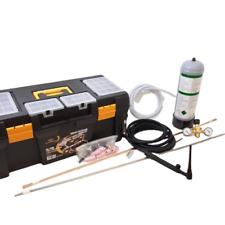 Kit MAXI per saldatura TIG con torcia Wp17 connettore 50, bombola, riduttore, ca
