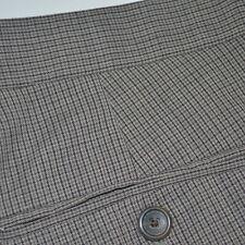 BANANA REPUBLIC Tailored Slim Fit 100% Wool Flat Front Dress Pants Sz 34 x 32