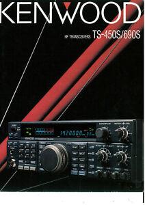 Kenwood TS-450S/690S TS690S TS450S Prospekt TS-450 TS 450