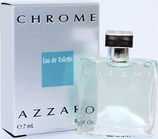 CHROME AZZARO BY AZZARO 0.23 OZ/7 ML EDT SPLASH FOR MEN NEW IN BOX