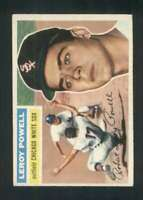 1956 Topps #144 Leroy Powell EX+ RC Rookie White Sox 83979