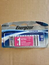 Energizer Ultimate Lithium AAA Batteries 12 Pack Exp. 2038-2039 L92SBP-12