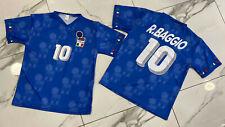 1 Maglia Roberto Baggio nazionale Italia azzurri usa 94 calcio vintage
