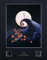Tim Burton Ver2 Signed Photo Film Cell Presentation