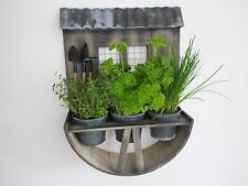 Wooden Wall Garden Planter Herb Window Box Plant Style