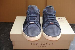 TED BAKER EERIL SUEDE DETAIL TRAINERS 11 UK  EUR 46
